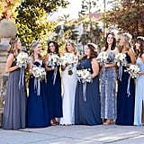 Different-Colored Bridesmaid Dresses Add Unique Character