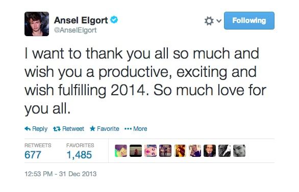 9 Reasons You Need to Start Crushing on Ansel Elgort