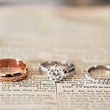 Tip: Consider placing your rings on a meaningful page from a book of poetry or a particularly personal passage from the Bible.  Photo by K&K Photography via Style Me Pretty
