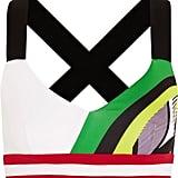 NO KA 'OI Ola Printed Stretch-Jersey Sports Bra