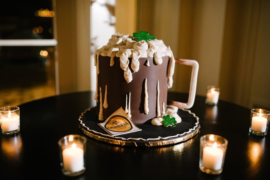 Beer-Filled Mug Cake