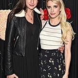 Emma Roberts and Grace Nickels