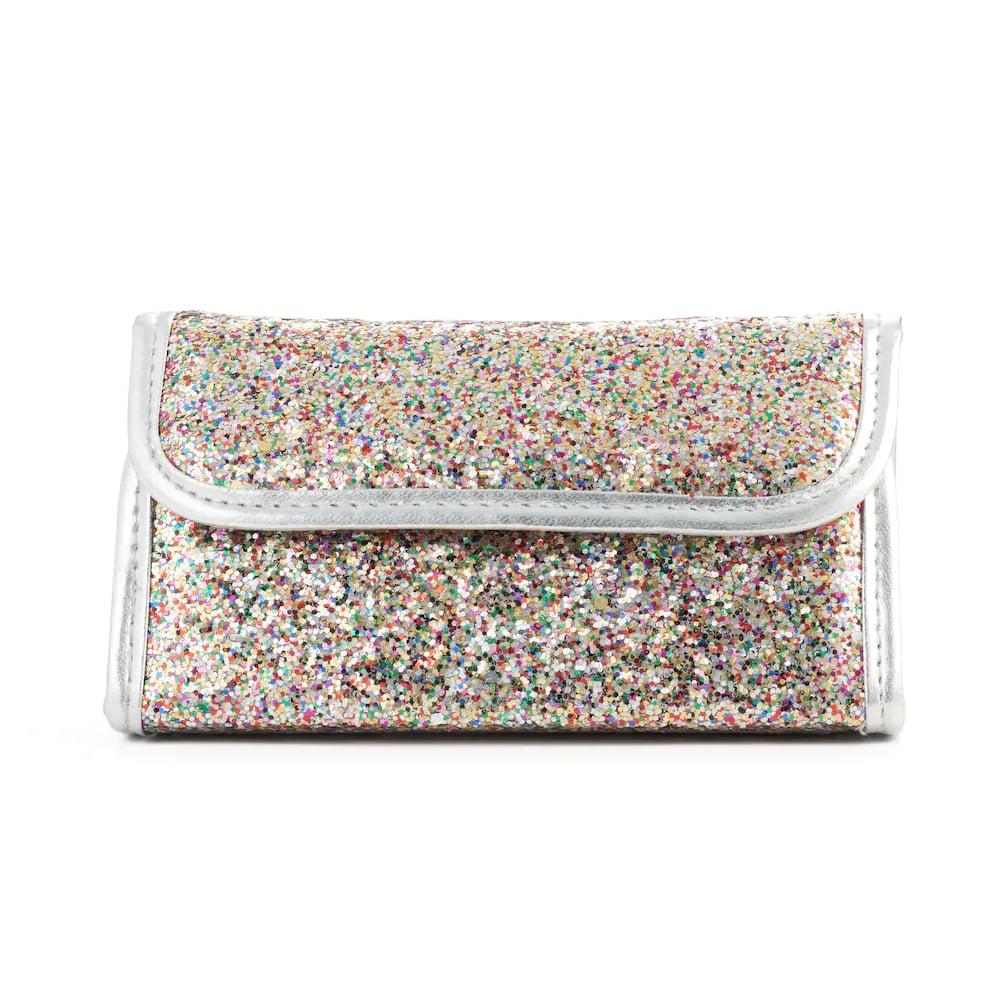 Simple Pleasures Multicolor Glitter Cosmetic Travel Set