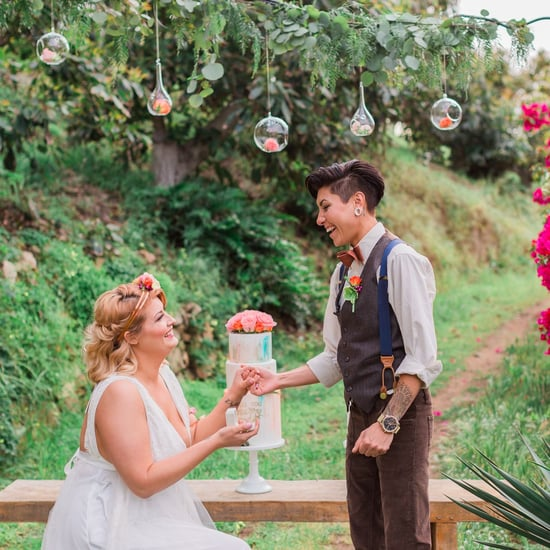 Surprise Proposal in a Styled Wedding Shoot