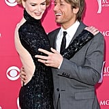 Nicole and Keith had their arms around each other at the 2009 Academy of Country Music Awards in Las Vegas.