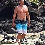 Rob Lowe Shirtless in Hawaii July 2017
