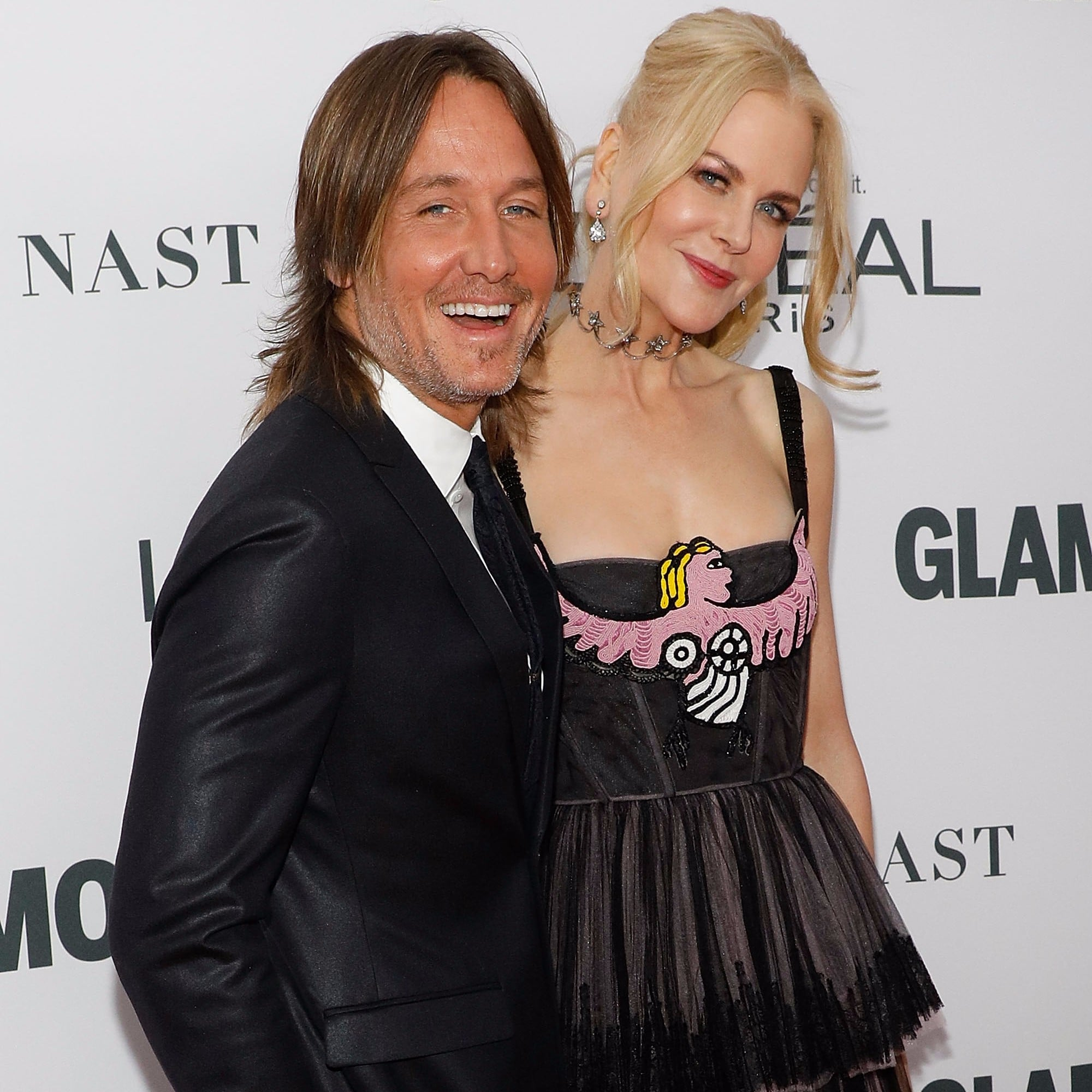 Nicole Kidman And Keith Urban Glamour Women Of The Year