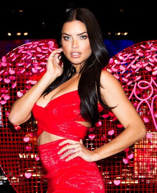 Sleek and Straight: The Victoria's Secret Model Way