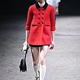 Red Coat: Gucci