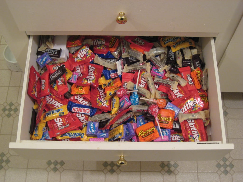 Grandparents ALWAYS have candy.
