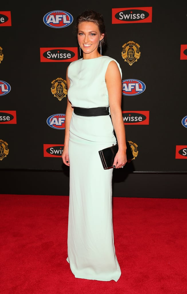 Julie Dal Santo the wife of Nick Dal Santo of the Saints.