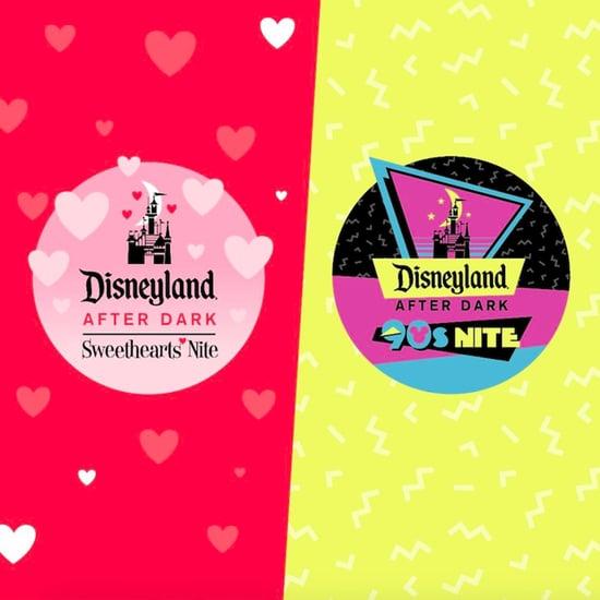Disneyland Sweethearts' Nite and '90s Nite Events 2019