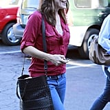 Jennifer Garner and Samuel Affleck Pictures in LA