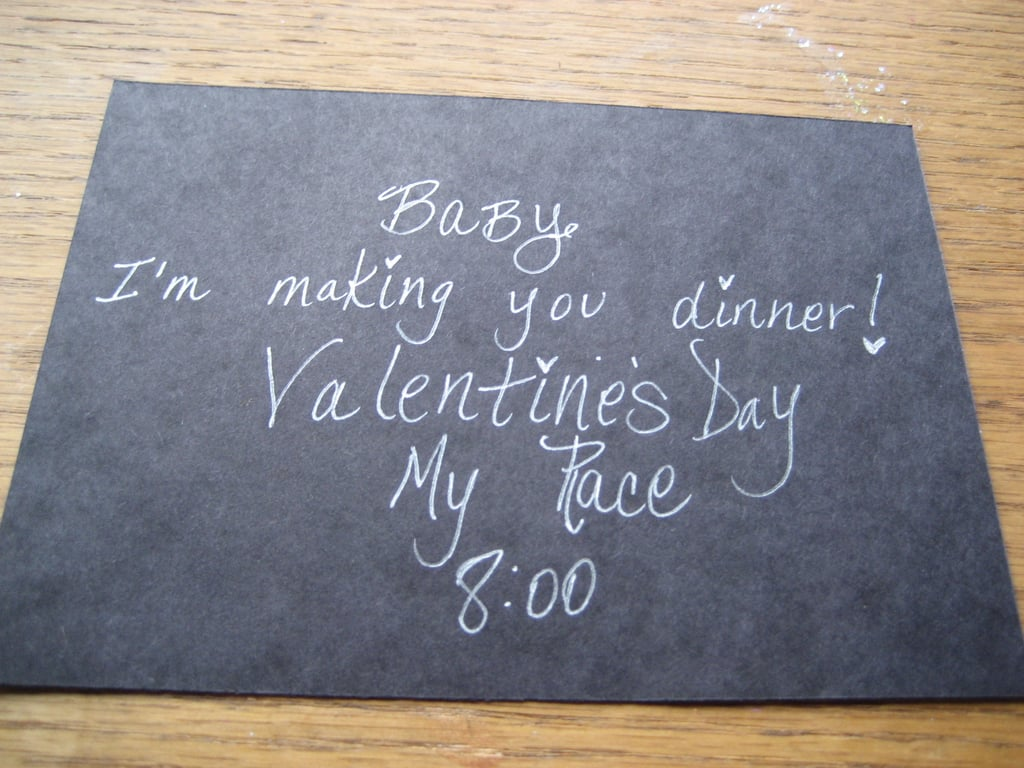Come Party With Me: Romantic Valentine's Day Dinner - Invitations