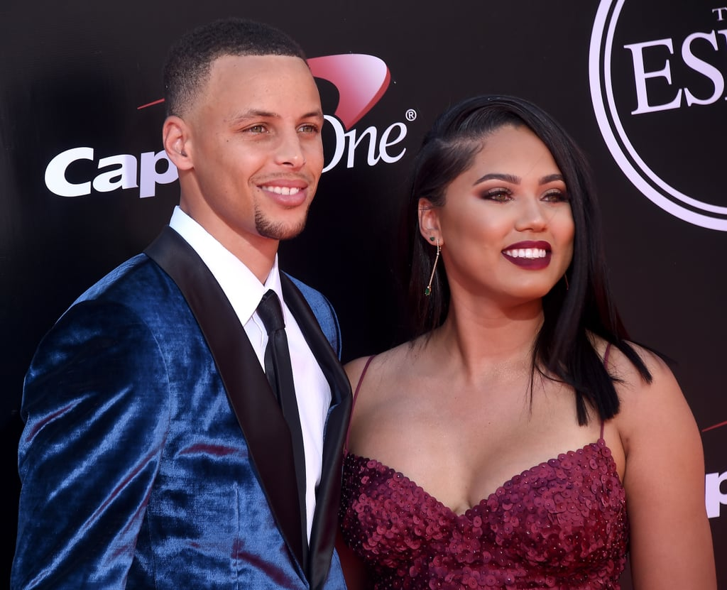 ayesha and stephen curry at the espys 2016