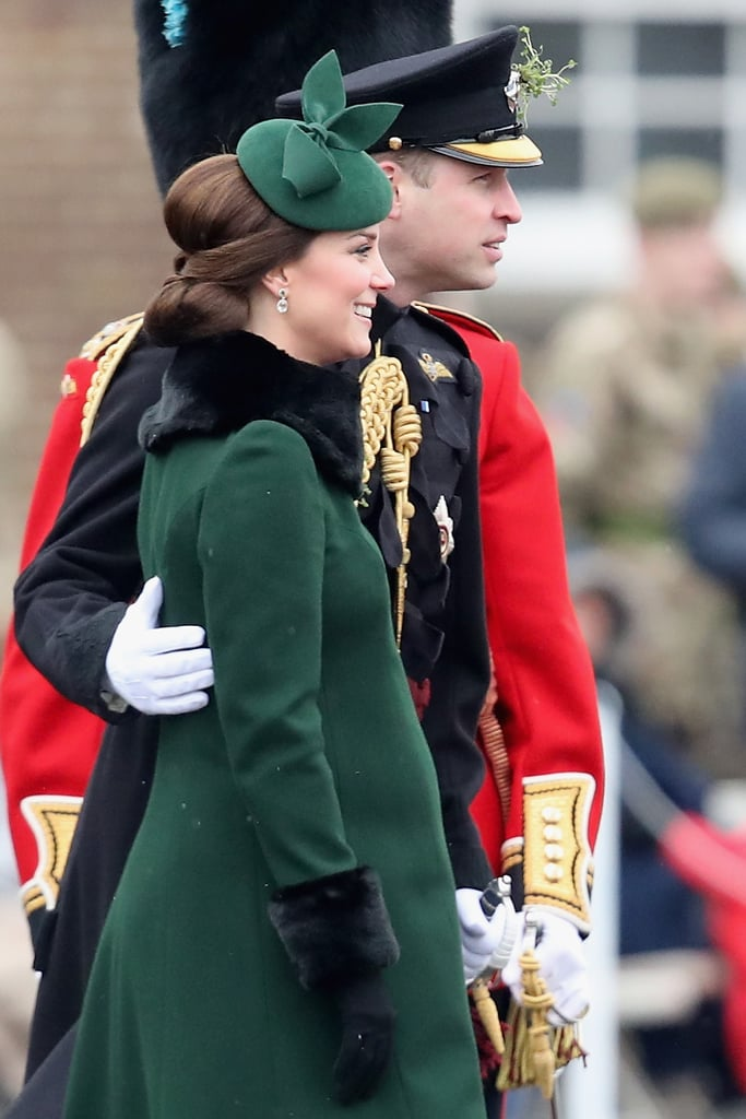 When William Sweetly Placed His Hand on Kate's Back