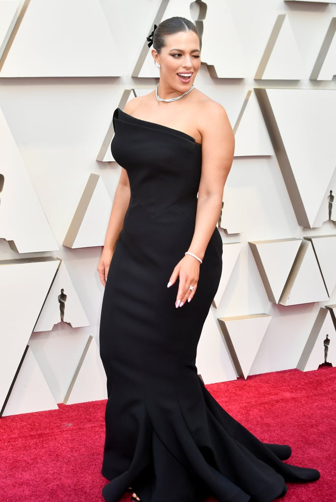 ashley graham at the 2019 oscars  sexiest oscars dresses