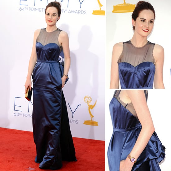 Michelle Dockery at the Emmys 2012