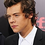 Harry Styles stepped out with the rest of One Direction for their NYC movie premiere.