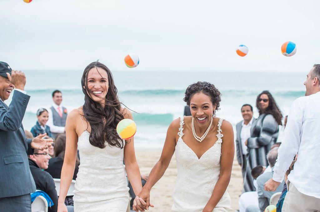 Whimsical California Beach Wedding