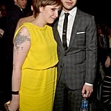 Lena Dunham and Jack Antonoff, 2013