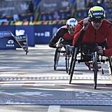 Daniel Romanchuk Wins 2019 NYC Marathon Men's Wheelchair Division