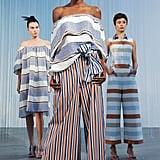 Mismatched stripes.
