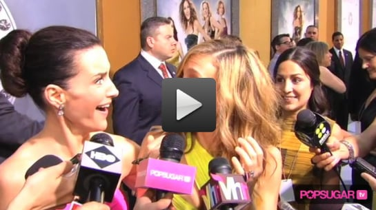 Exclusive Video of SJP, Kristin Davis, Chris Noth and So Much More at NYC SATC2 Premiere!
