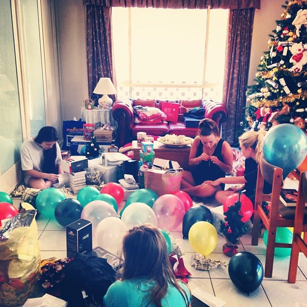 Reece Mastin's place was filled with balloons and presents. Source: Instagram user reecemastinofficial