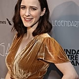 Rachel Brosnahan's Shoulder-Length Brown Hair in 2018