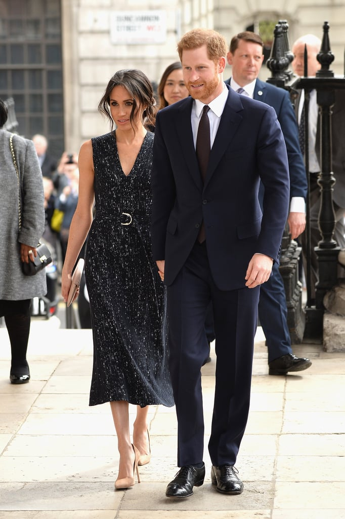 April: Meghan and Harry attend a special memorial service on the same day Kate Middleton gave birth to Prince Louis.