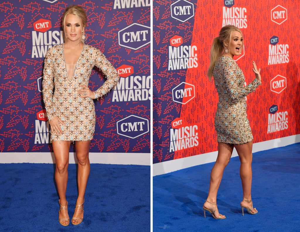 Carrie Underwood's Leg Exercises