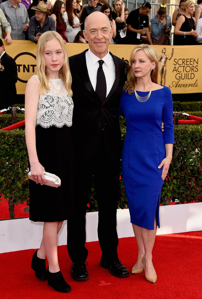 Whiplash star jk simmons brought his wife michelle and daughter whiplash star jk simmons brought his wife michelle and daughter olivia as his lovely dates to sciox Gallery