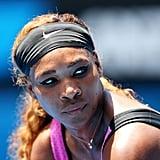 Serena Williams at the Australian Open in 2014