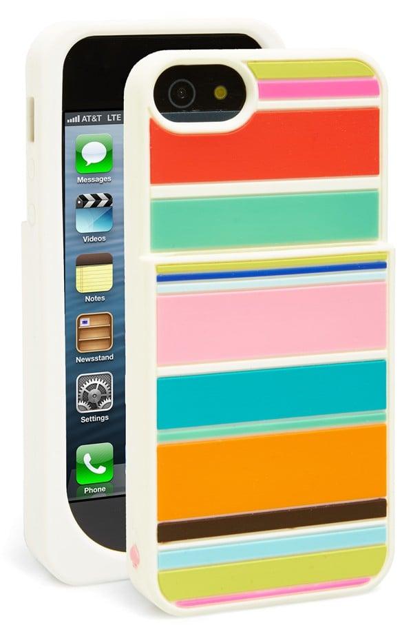 Kate Spade Beach Strip Pocket iPhone 5 Case
