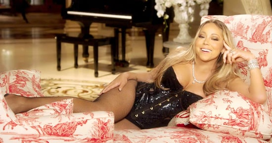 Mariah Carey's New 'Mariah's World' Promo Is Here: Watch Her Lounge at Home in a Bedazzled Bustier