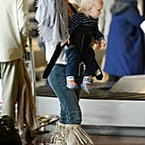 Kate Hudson Lands in Paris With Her Boys Ryder and Bingham