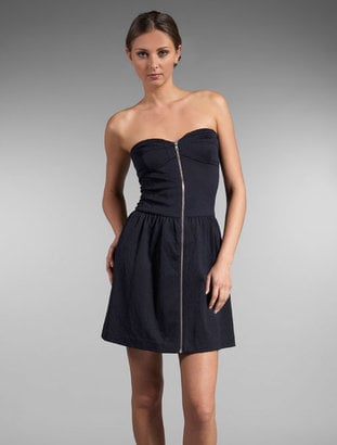 The Look For Less: Charlotte Ronson Flare Corset Dress