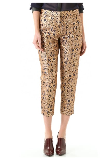 How sweet is this paisley-printed version?  Tba (to be adored) Maxine Paisley Pants ($125)