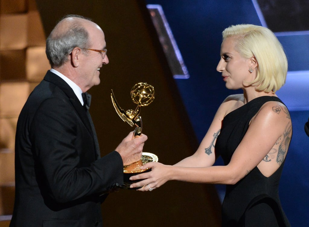 Lady Gaga Had a Delightful Reaction to This Star-Struck Emmy Winner