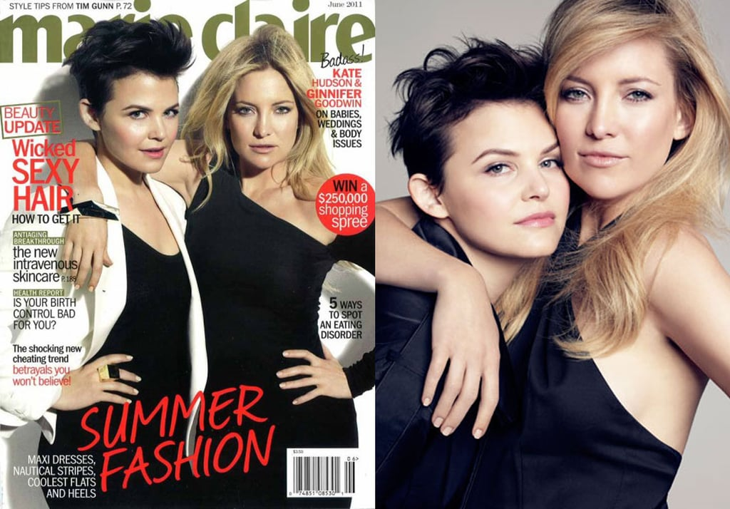 Ginnifer Goodwin and Kate Hudson Talk Baby Plans and Body Image in Marie Claire