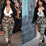 When she rocked camouflage