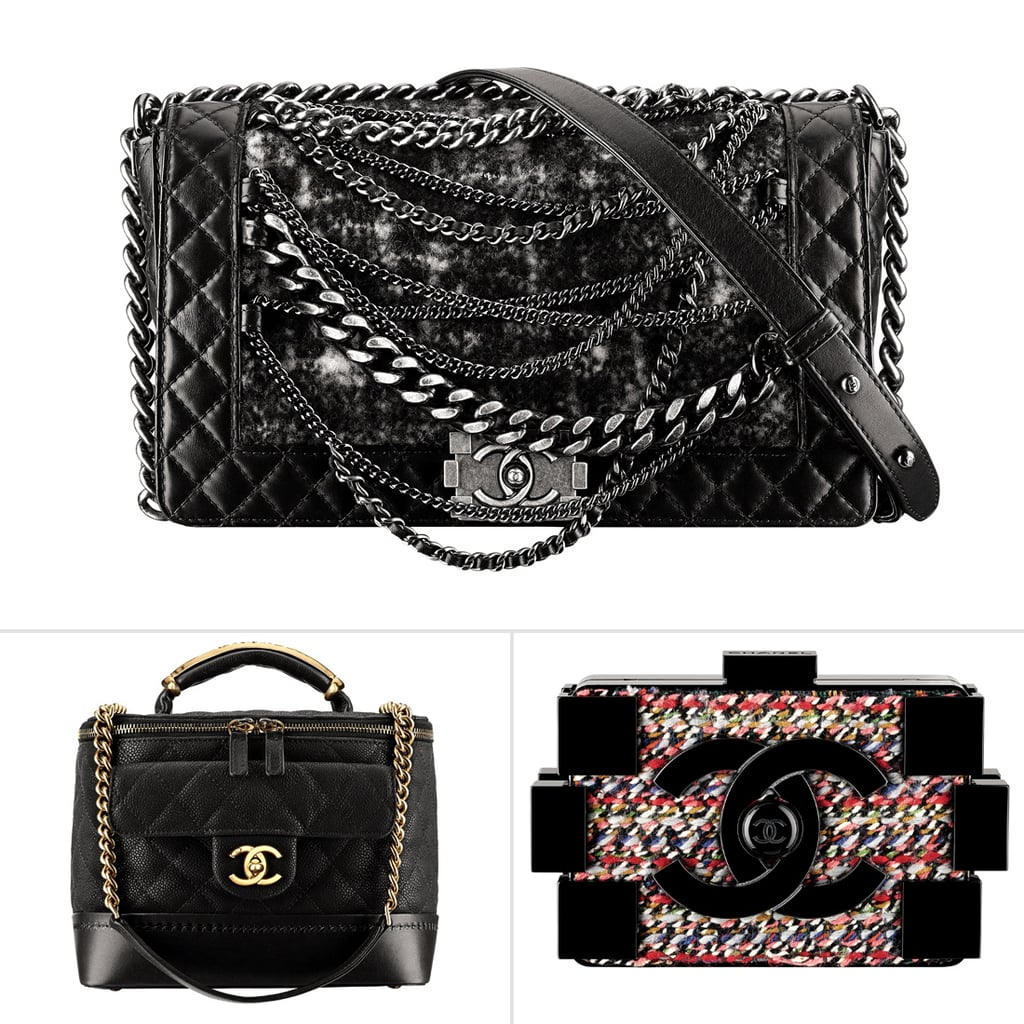 aa87b0f6af05 Chanel Fall 2013 Bags | Pictures | POPSUGAR Fashion