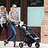 Karolina Kurkova's dressed-down denim was the kind we plan on stealing for our laid-back weekend routine.