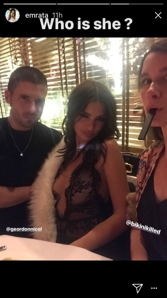 Emily Ratajkowski's New Year's Eve Top Plunged Far Enough to Make Your Jaw Drop
