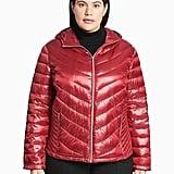 Calvin Klein Packable Hooded Down Jacket