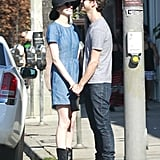 Anne Hathaway and Adam Shulman held hands and showed PDA while shopping in LA.