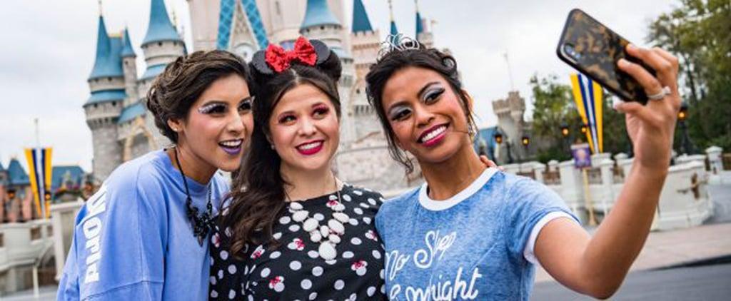 Disney World Adult Princess Makeovers