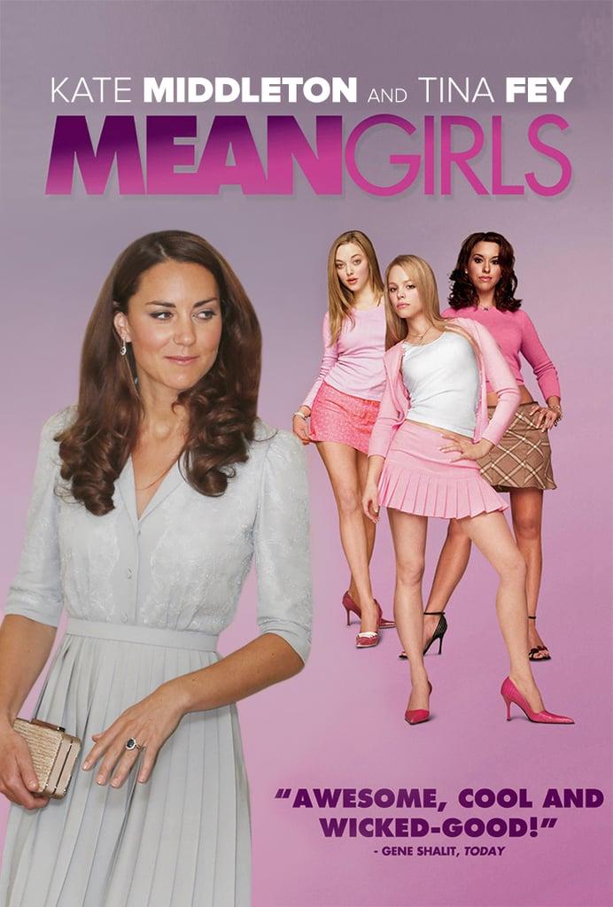 كيت ميدلتون واقتباسات فيلم Girls  Mean