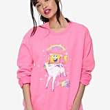 Coming soon: Lisa Frank x SpongeBob Girls Unicorn Pullover ($33)